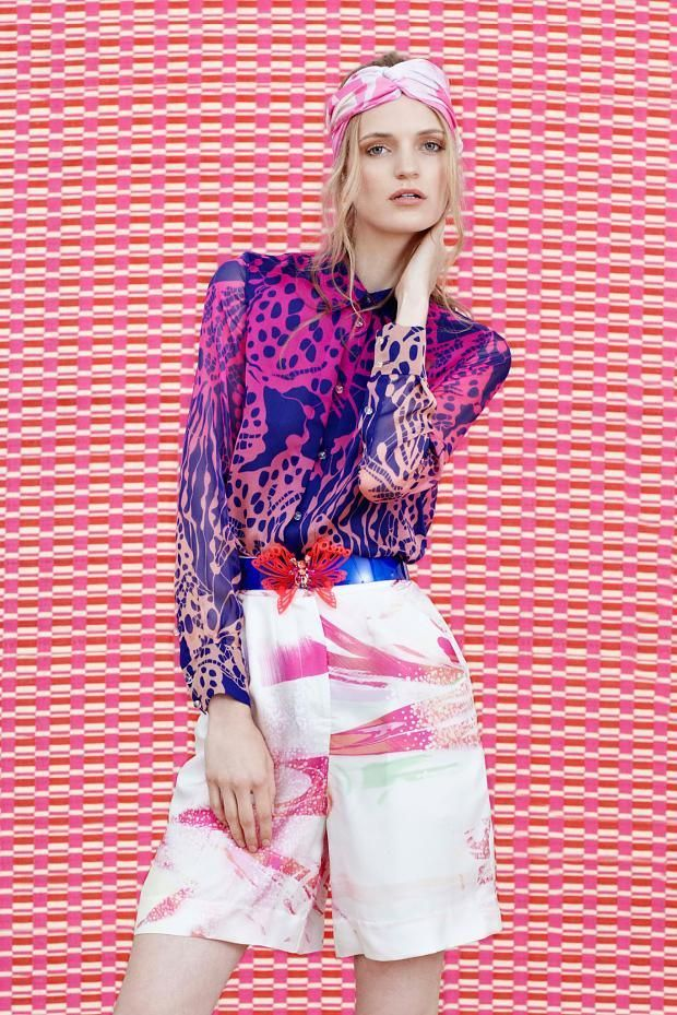 Tropical Brushstroke Fashion