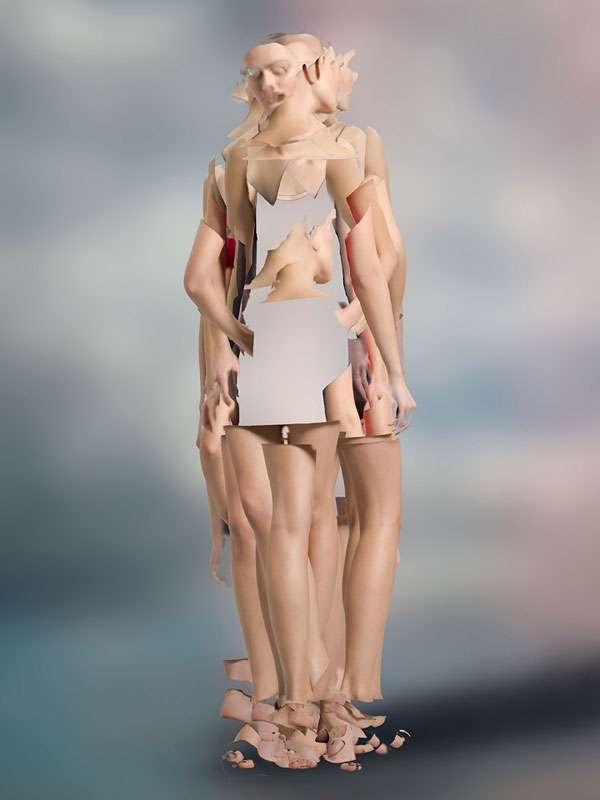 Faceless-Figured Models