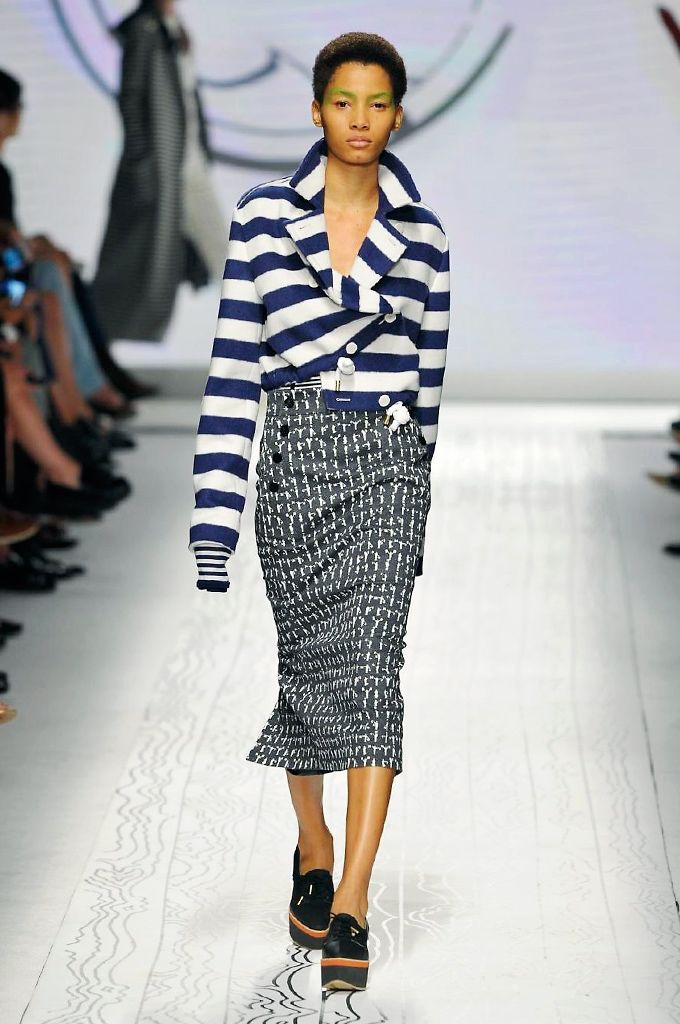 Sleek Nautical Fashion