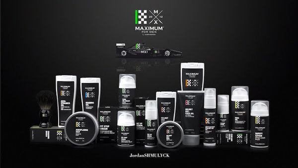 Racecar-Inspired Skincare Packaging