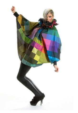 Delightful Retro Raincoats