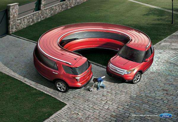 Wrap-Around Car Ads