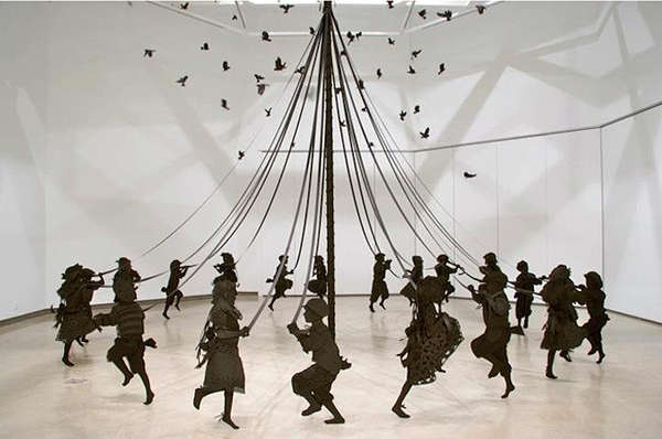 Maypole Dancing Art Installations