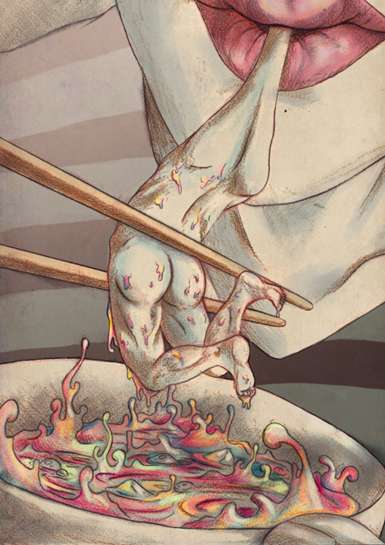 Japanese Fantasy Style Illustrations