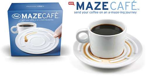 Maze Cafe Cup And Saucer