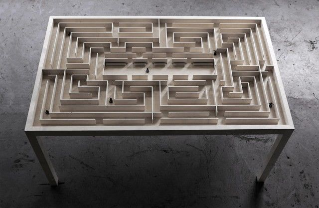 Intricate Maze Furnishings