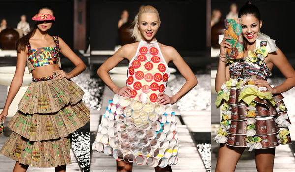 Upcycled Fast Food Fashions