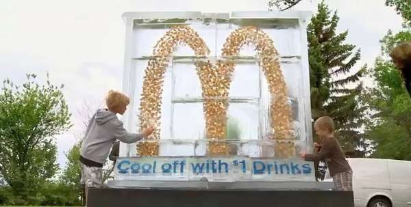 Coined Golden Arches : McDonald s Dollar Drink Days