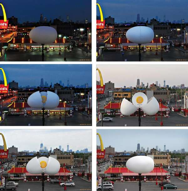 Billboards That Hatch