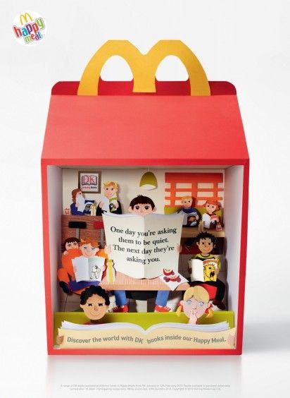 Fast Food Diorama Ads