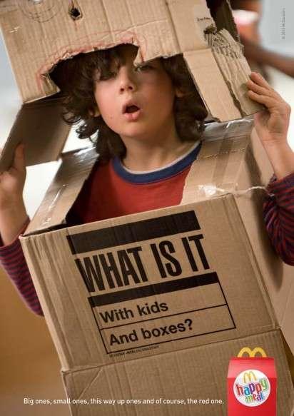 Childhood Imagination Ads