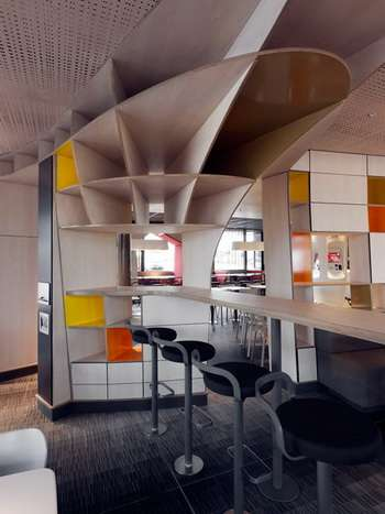 Contemporary Fast Food Interiors