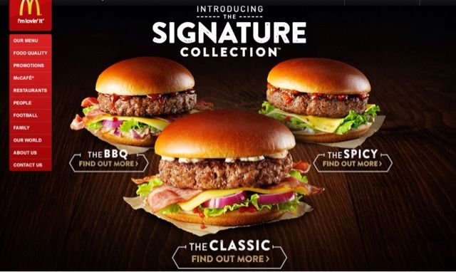 Gourmet Fast Food Burgers