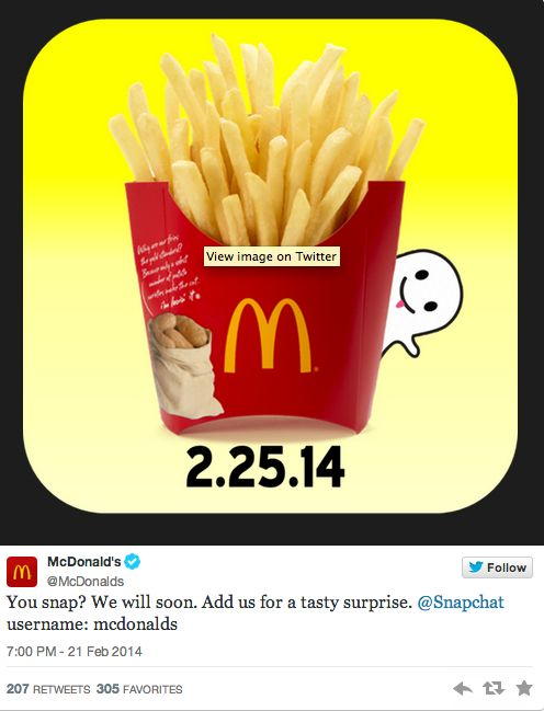 Fast Food Launching Snaps