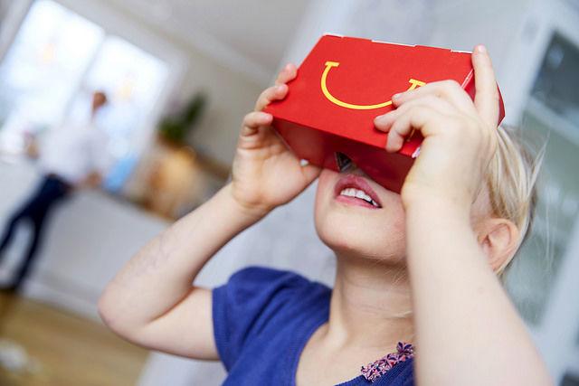 Kids Meal VR Packaging