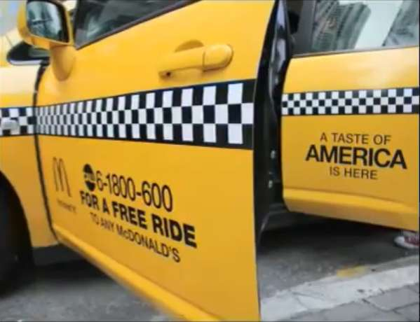 Free Fast-Food Taxis