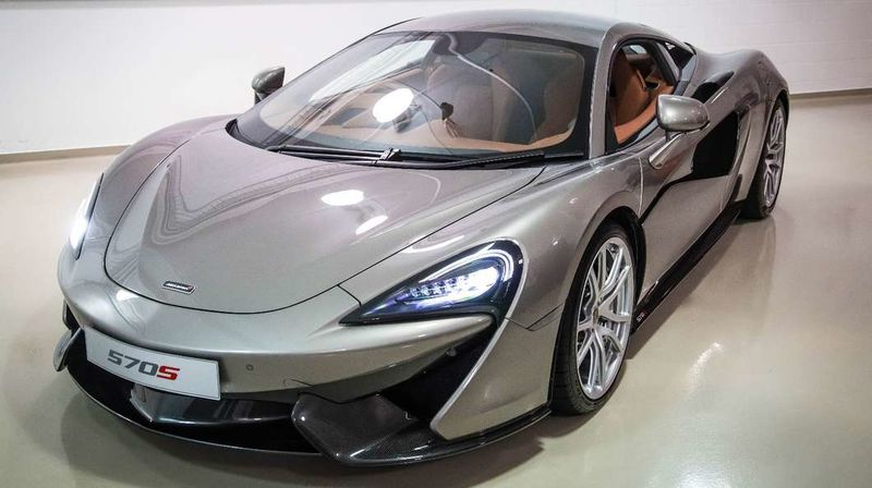 Sleek Carbon Fiber Cars
