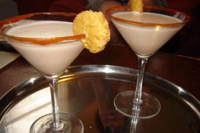 Chicken-Infused Cocktails