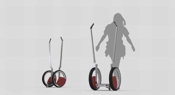 Efficient Standing Scooters