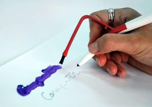 Observation-Inspiring Pens