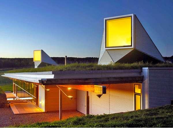 Submerged Sustainable Housing