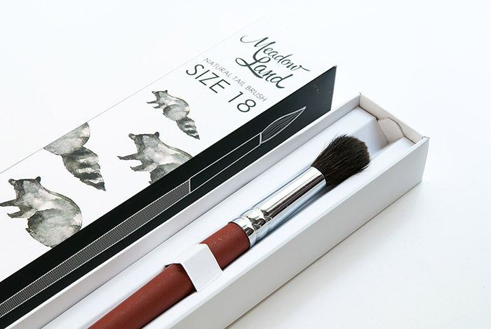 Nature-Inspired Brush Branding
