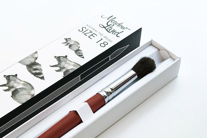 Nature-Inspired Brush Branding