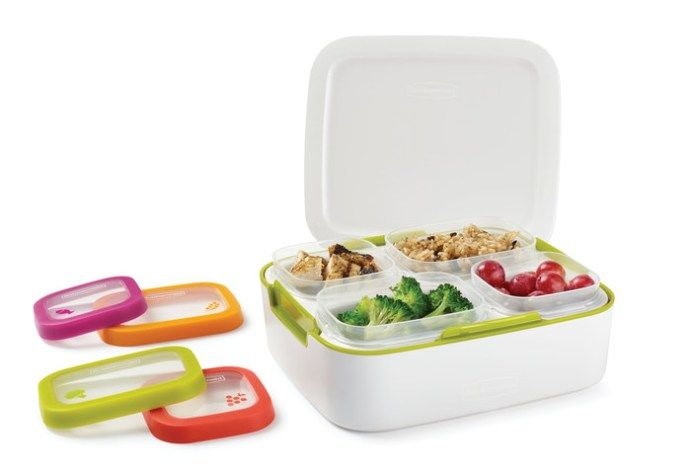 Portion-Controlled Meal Containers