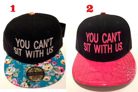 Admirable Quotable Cinematic Snapbacks Mean Girl Quotes Hairstyles For Women Draintrainus