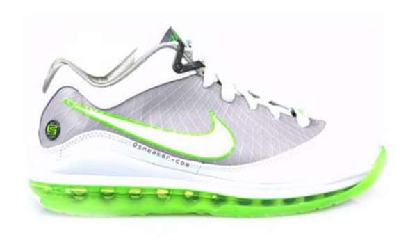 Bright Lime Court Kicks