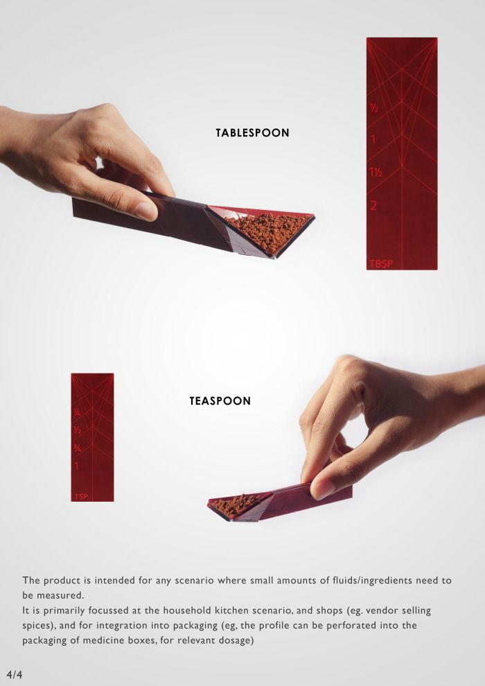 Folding Measuring Spoons