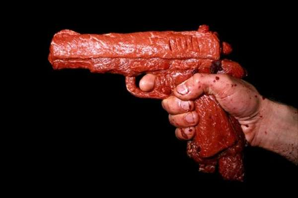 Hamburger Meat Handguns