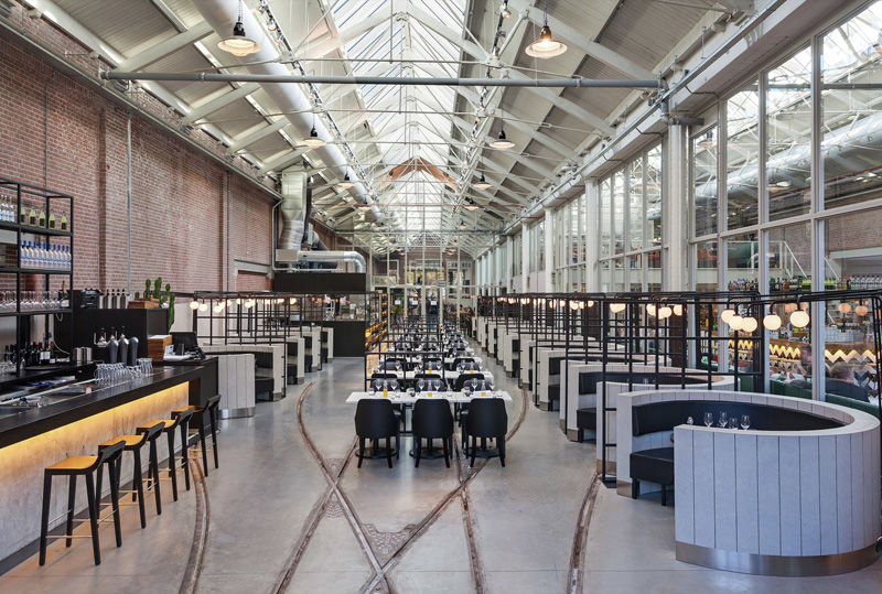 Transformed Repair Shop Restaurants