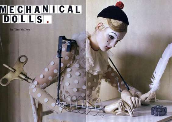 Mechanical Dolls by Tim Walker