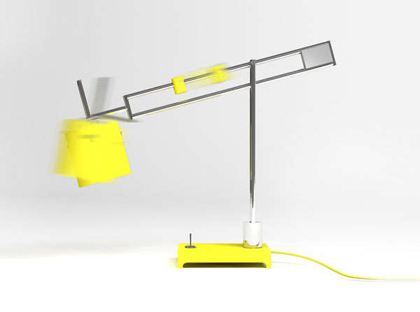 Cheerful Cantilevered Lamps