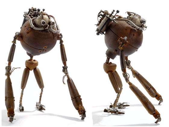 Mechanical Steampunked Sculptures