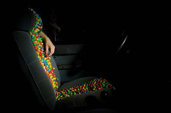 Candy-Covered Car Seats