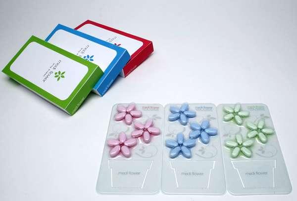 Floral Pill Box