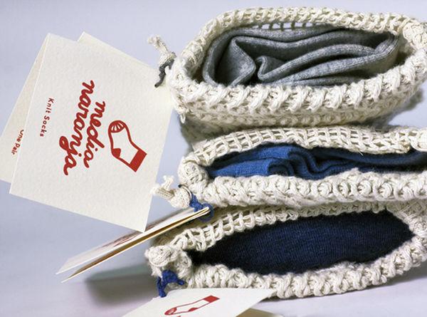 Canvas Bag Sock Packaging