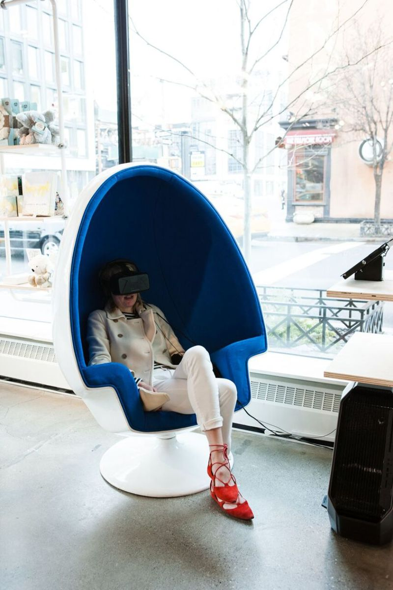 VR Relaxation Pods : mediation purposes