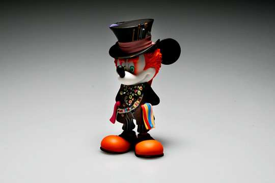 Medicom Mad Hatter Mickey Mouse