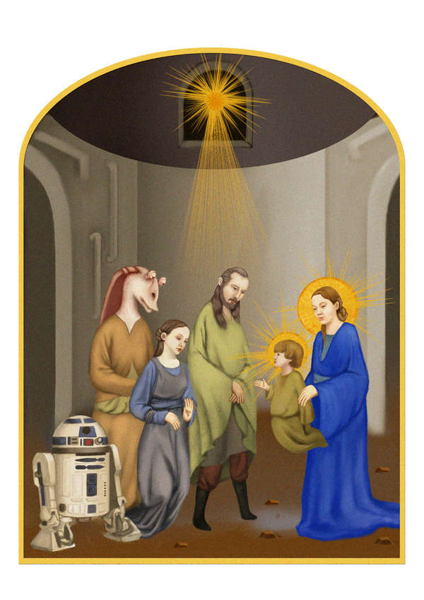 Medieval Star Wars Art