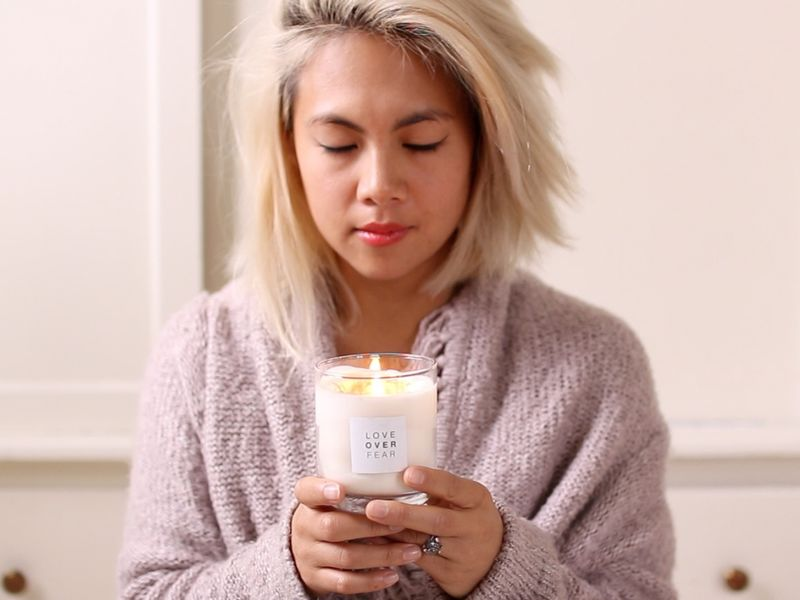 Modern Meditation Candles