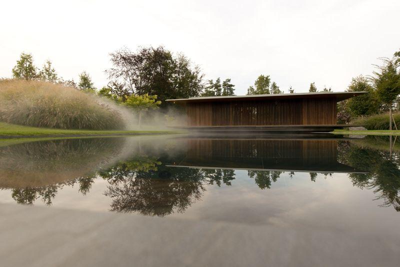 Tranquil Meditation Pavilions