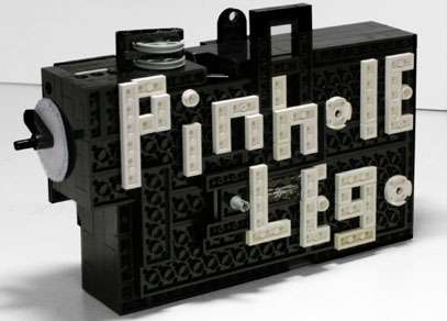Medium Format Pinhole Lego Camera