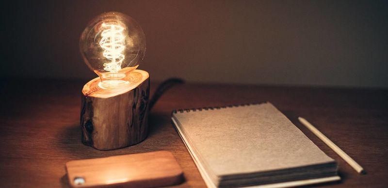 Wooden Stump Illuminators