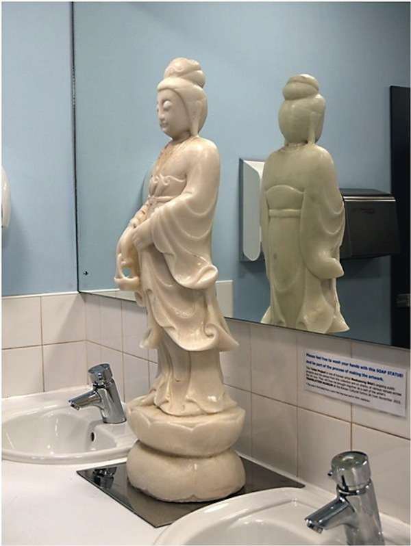 Sculptural Soap Figures