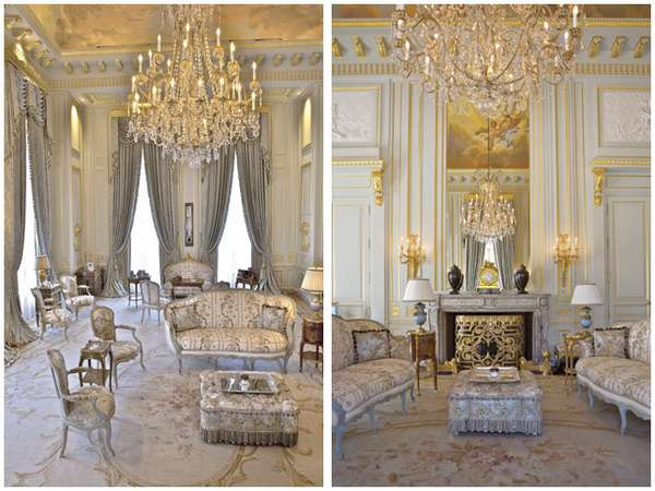 Franse Slaapkamer Meubels : Mariah Carey Mansion Inside House