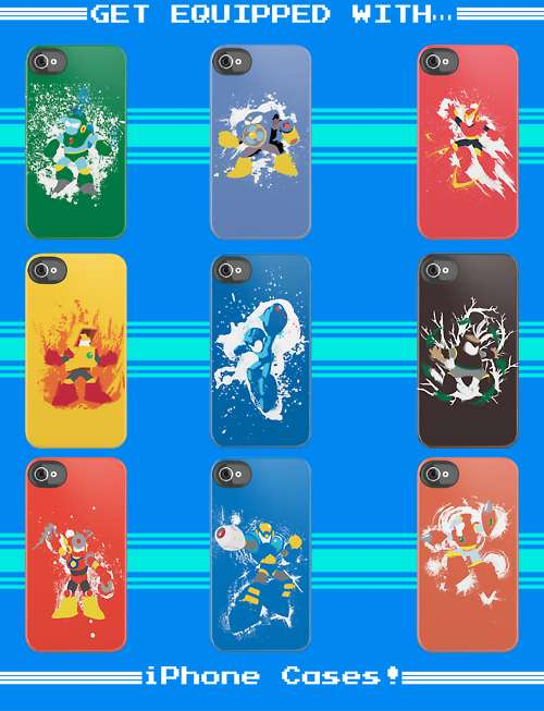 Megaman II iPhone Case