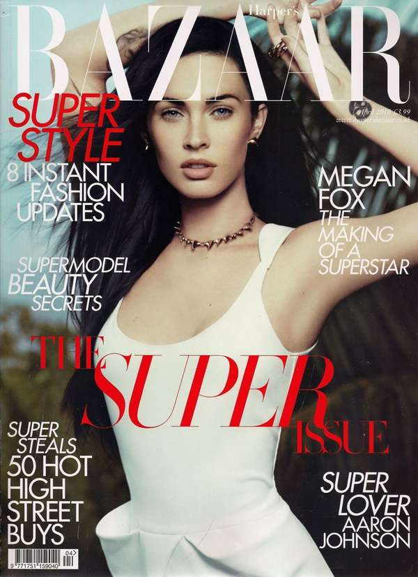 megan fox covers uk harper bazaar